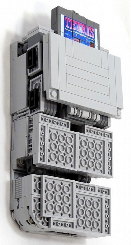 Gameboy Lego Transformer