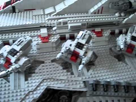 Gigantic 43,000 piece LEGO Star Destroyer