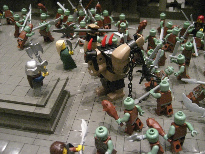 Lego! Epic battle for Middle Earth