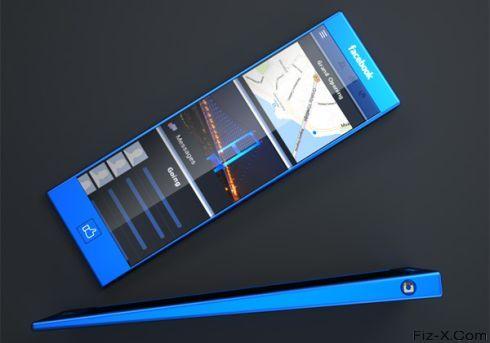 Blue Facebook Phone (1)
