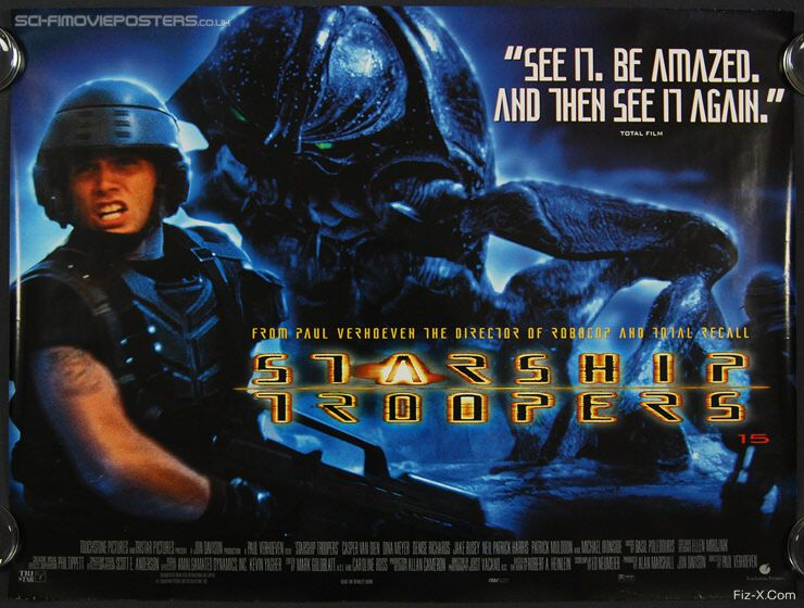 STARSHIP TROOPERS Reboot Will Be Less Violent