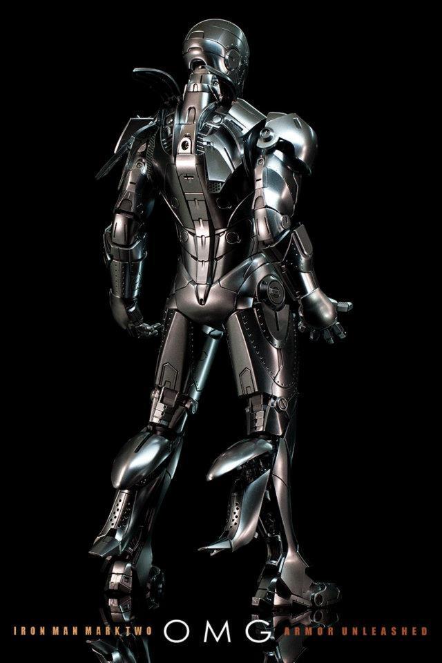 Hot Toys IRON MAN 2 - Mark II Armor Unleashed