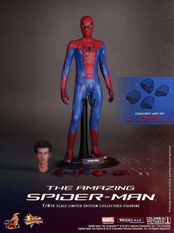hot toys spider man figure