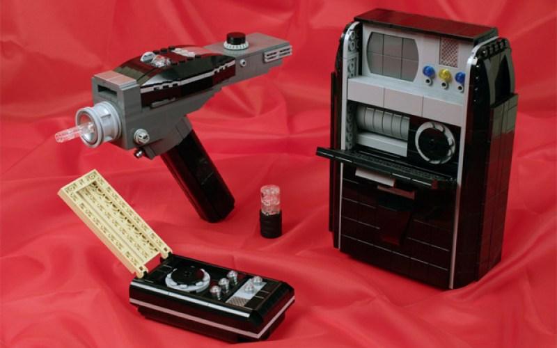 STAR TREK Gadgets Made From LEGO's