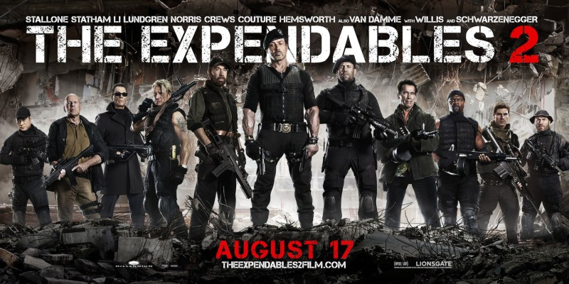 The Expendables 2 - New Banner