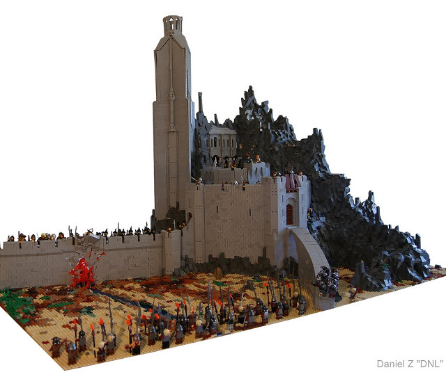 LEGO LORD OF THE RINGS Helm's Deep Set