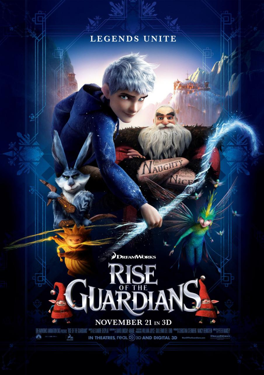 New RISE OF THE GUARDIANS Poster