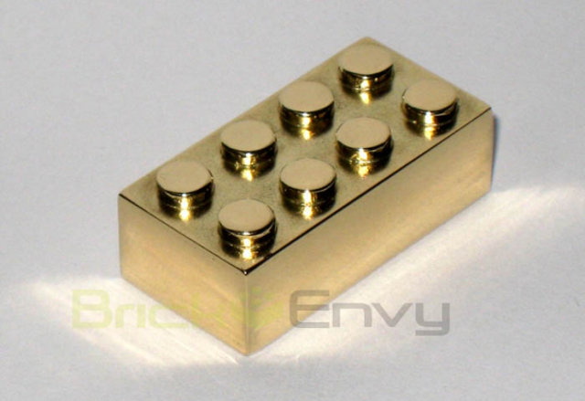 Solid Gold Lego Brick For Sale (2)