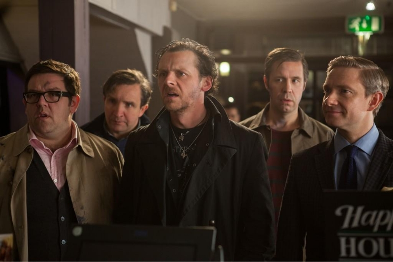 First Official Pic From The World's End
