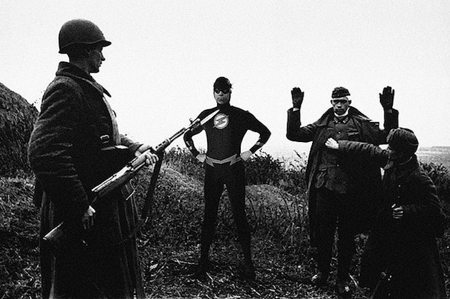 historic photographs with Super Heroes (10)