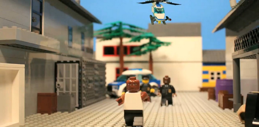 GTA Trailer Remade with Lego (1)
