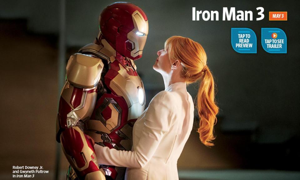 New Iron Man 3 Photo