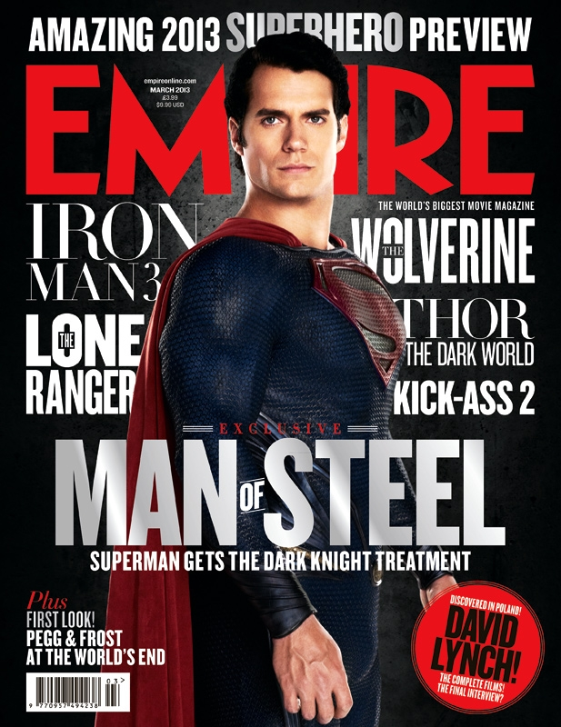 Man Of Steel Cover Is Here