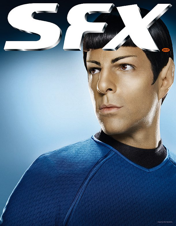 STAR TREK INTO DARKNESS - Spock Image Revealed !