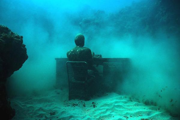 Underwater desk 2