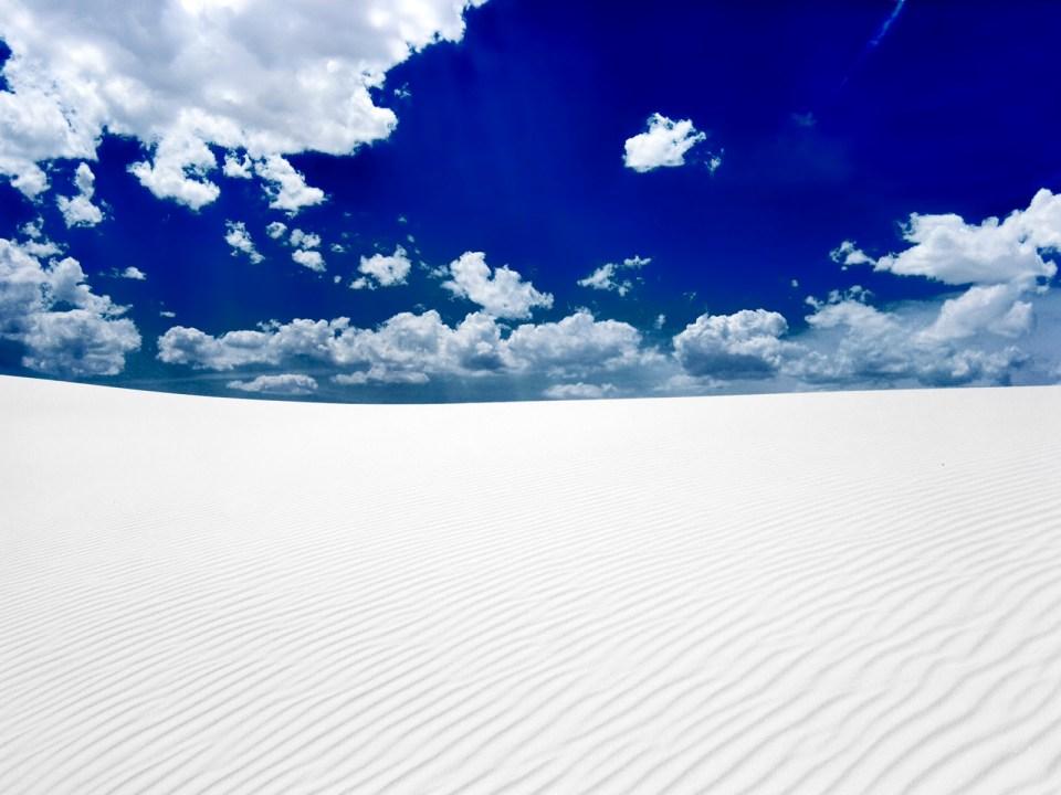 white sands horizon hd dektop wallpapers