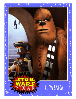 When Star Wars Meets Pixar: The Character Posters