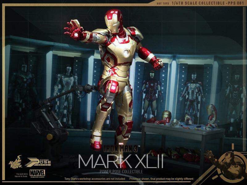 iron man Mark XLII figure hot toys