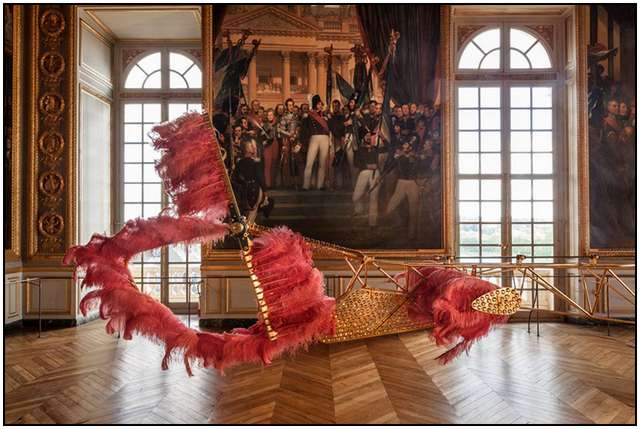 Marie Antoinette And Her Helicopter