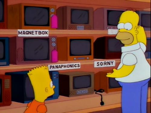 Products from The Simpsons