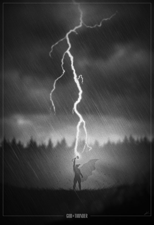 thor Noir Movie Posters
