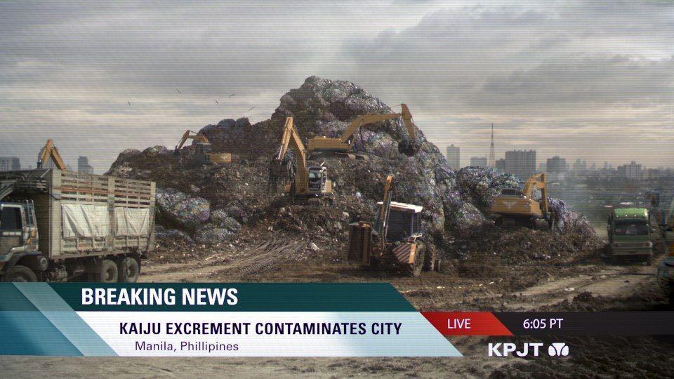 New Kaiju Dump Discovered PACIFIC RIM Photo