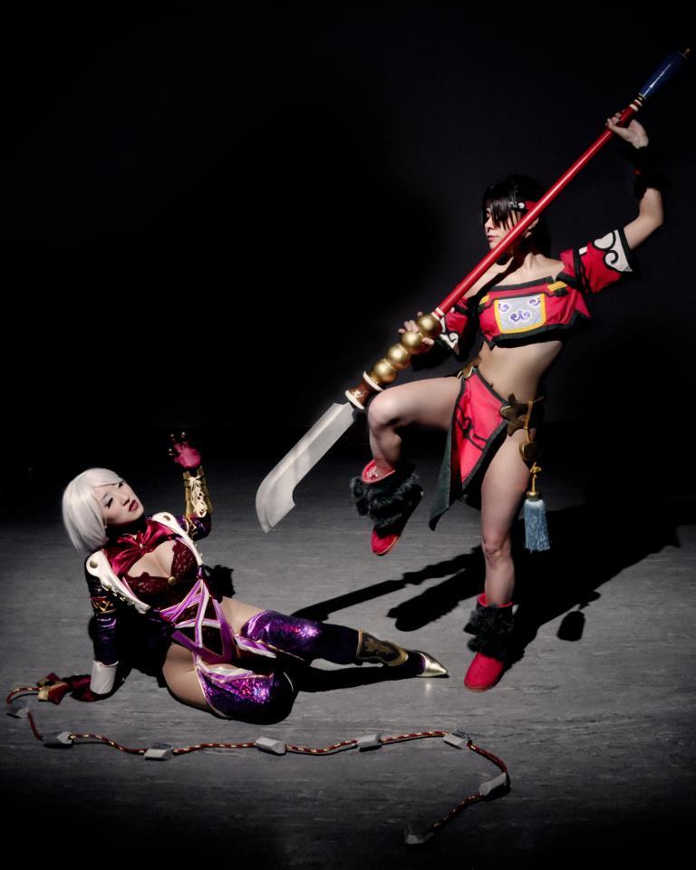 Ivy Valentine Soul Calibur V cosplay
