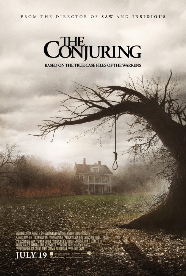 Creepy Poster for James Wan's THE CONJURING