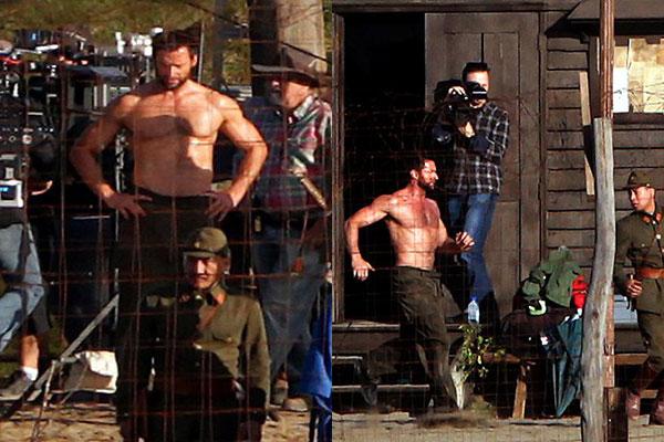 Wolverine Set Images