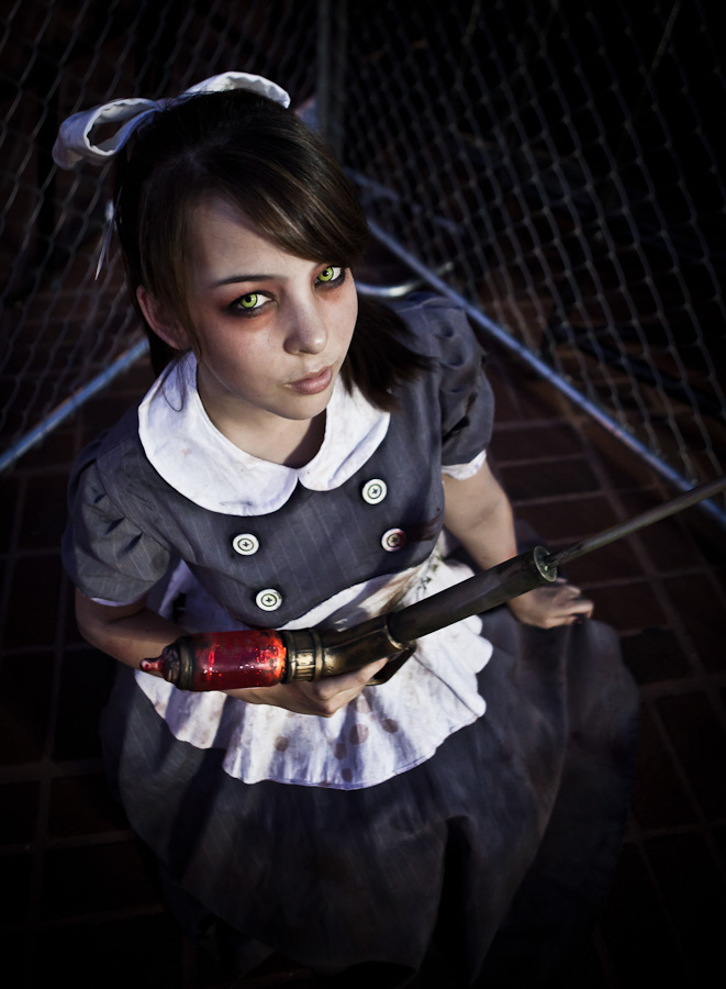 little sister bioshock cosplay