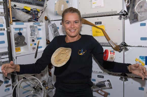 How To make a sandwich in space