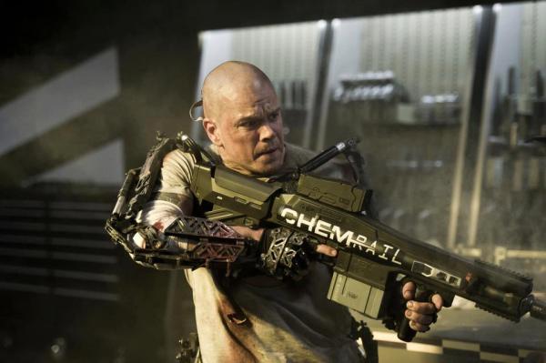 New Matt Damon Picture For Elysium