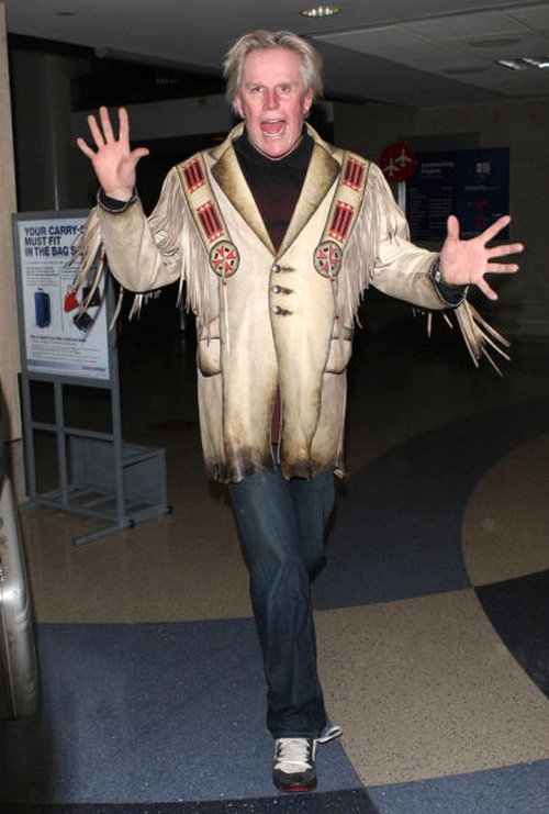 This pic of Gary Busey being Gary Busey