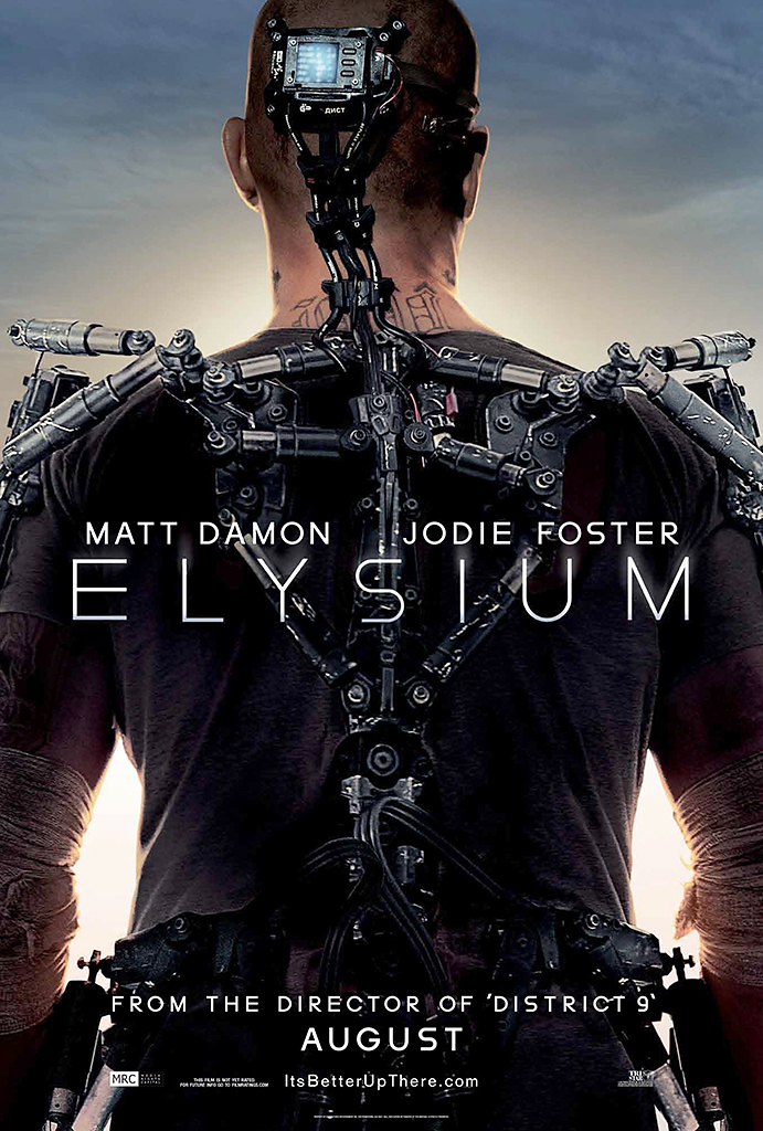 First Poster for ELYSIUM