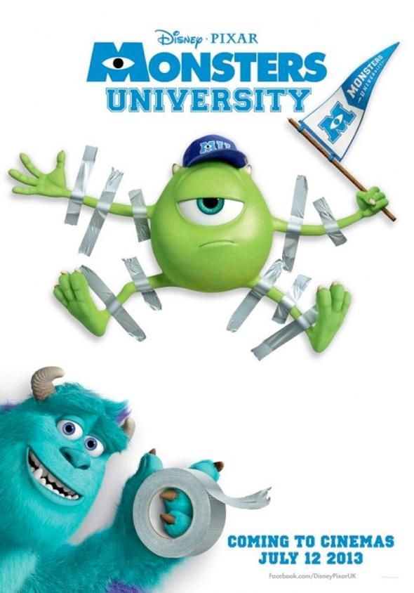 'Monsters University' Poster