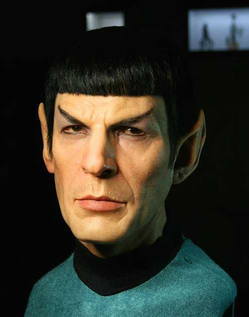 Spock Sculpture
