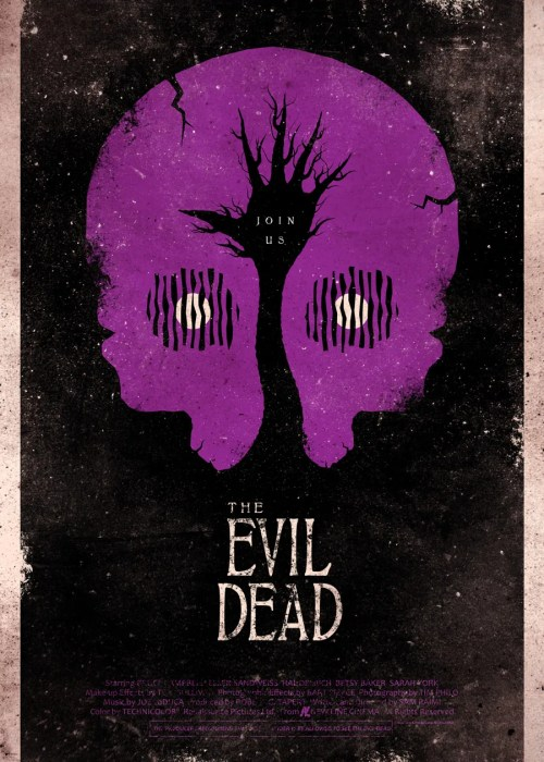 Alternate Fan Made EVIL DEAD Poster Art