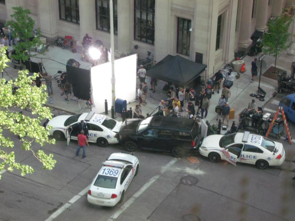 CAPTAIN AMERICA 2: Nick Fury Set Video and Photos