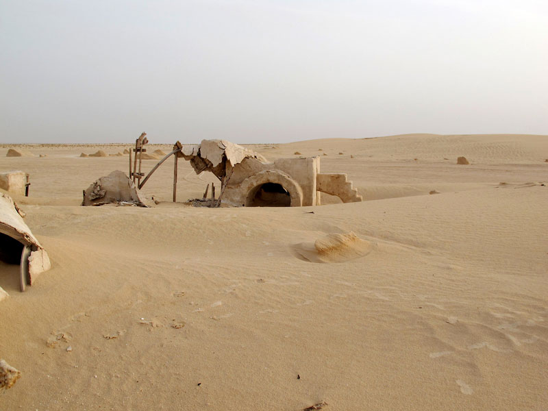 star wars set in tunisia