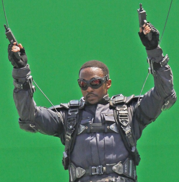 Behind The Scene Photos OF CAPTAIN AMERICA 2