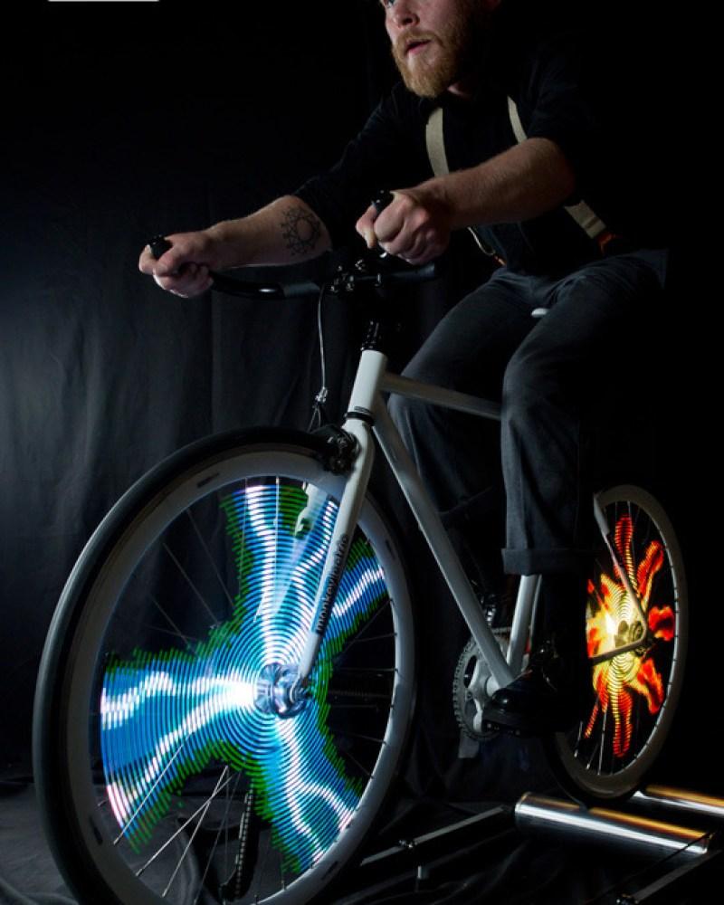 Bike Wheel Light Animation Kits