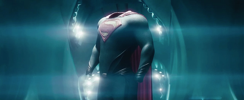New Man Of Steel Footage