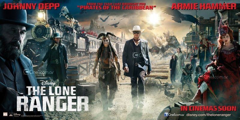The Lone Ranger Epic Banner
