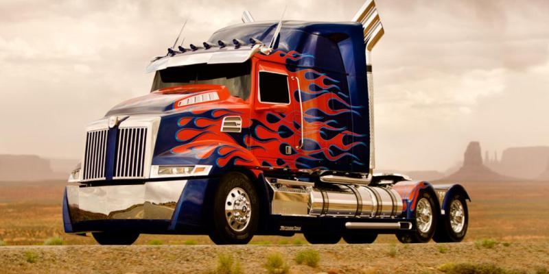 The Newly-Designed Optimus Prime