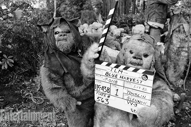 Behind The Scenes of Star Wars Return of the Jedi