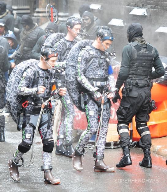 Teenage mutant ninja turtles set photos