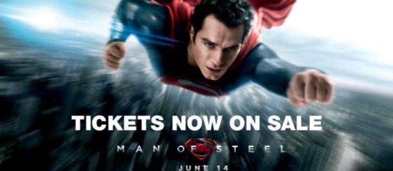 man of steel tickets on sale now