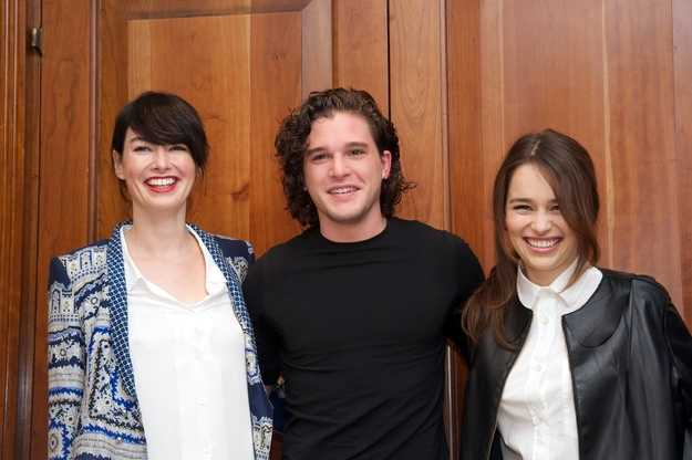 Cersei, Snow and Dany hanging out