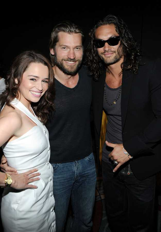 Drogo with Jaime and Dany