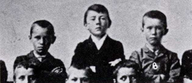 Eleven year-old Adolf Hitler